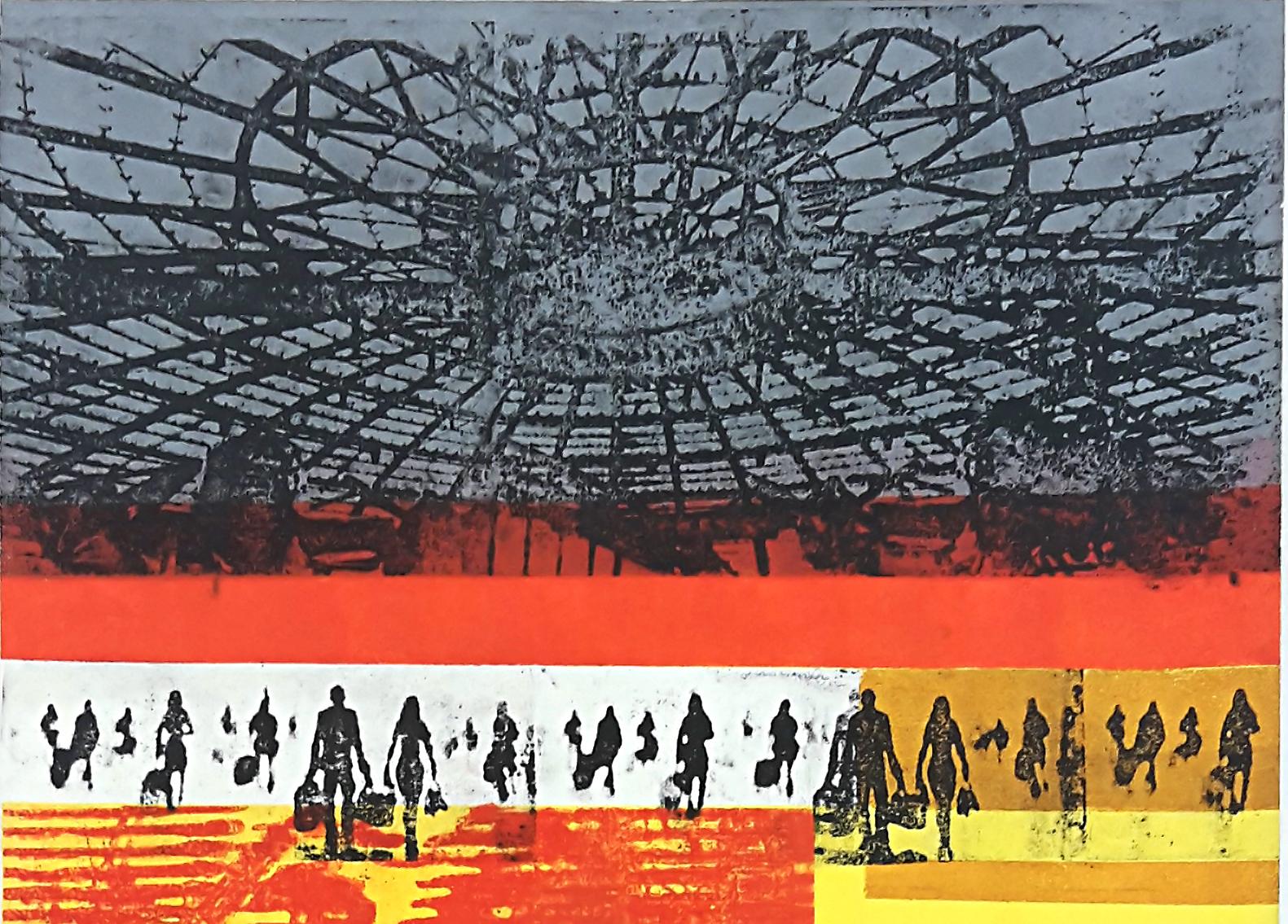 Aktuelle Ausstellung<br />Urbane Zeiten, Monika Baltes